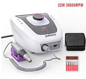 Wholesale 32W RPM Electric Nail Drill Manicure Machine Set for Nail Pedicure Machine Fingernail Drill Equipment Manicure Tools