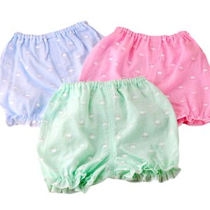 Summer Baby Clothing Shorts Toddler Muslin Cotton Baby Clothes Thin Shorts Pants 1-2 Y on Sale