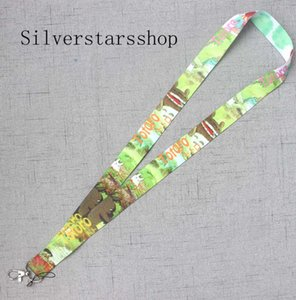 Wholesale New Cartoon Popular Japanese anime My Neighbor Totoro Phone MP3 cell Neck Strap Lanyards H