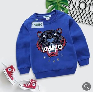 Baby Boy Clothes Pullover Hoodies Sweater Autumn Children's Garment Bark Team Embroidered Pure Cotton Long Sleeve Knitting