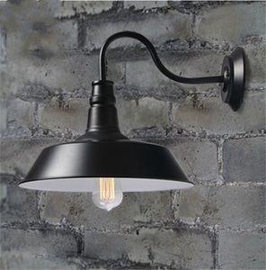 Vintage Idustrial Retro Age Simple Style Barn Wall Lamp Sconce Indoor Outdoors Light pulley B&B restaurant bar lighting corridor aisle light