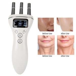 Wholesale Multifunctional Face Lifting Massager Infrared Heating Magnetic Vibration Wrinkles Removal Anti aging Face Lifting Skin Care USB