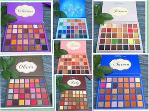 In stock Makeup High-quality Eyeshadow Palettes 35color Four Styles Eyeshadow Palette DHL