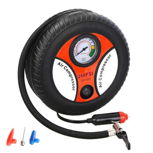 ABZB-Portable Car Air Compressor Auto Inflatable Pumps Electric Tire Inflators Car Tire Repair Protective Tool