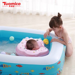 Wholesale 2019 Hot High Quality PVC Safe Children s Home Use Swimming Pool Large Size Inflatable Square Paddling Pool Kids inflatable