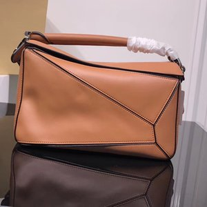 Wholesale high quality new style fashion genuine leather crossbody bag women shoulder bag geometric tote handbag shopping evening bag