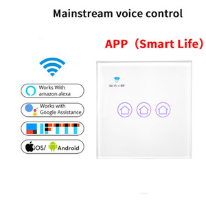 RF WiFi Smart Switch Supports Alexa Mainstream Voice Control Switch Smart Life Snycs with Schedule Android iOS Phone Wifi Control on Sale