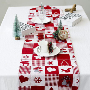 Wholesale dinner table for sale - Group buy Christmas Table Runner Tapestry Dinner Table Cloth Decoration Christmas Decor for Home New Year Dinner Party Supplies