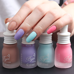 Wholesale 10ml Bottle Color Top Coat Oil MaScrub Light Suface Oil Gel Nail Polish Glitter Nail Lacquer Varnish Gel