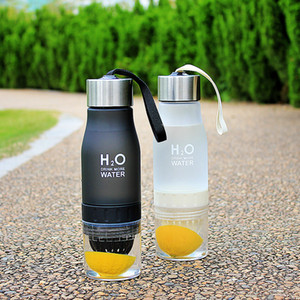 New Xmas Gift 650ml My Water Bottle plastic Fruit infusion bottle Infuser Drink Outdoor Sports Juice Portable Kettle on Sale
