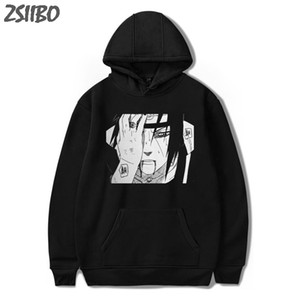 Wholesale Hoodies Unisex Naruto Harajuku Japanese Anime Uchiha Itachi Printed Men s Hoodie Male Streetwear Fashion Casual sweatshirt Coat