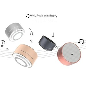 Wholesale New LED MINI Bluetooth Speaker A10 TF USB FM Wireless Portable Music Sound Box Subwoofer For Phone PC