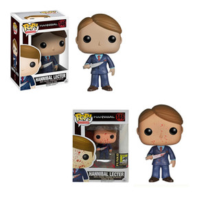 Funko pop #146 Hannibal Lecter Vinyl Action & Toy Figures Collectible Model Toy for Children