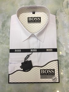 Oxford Dress Shirt Men 3XL Business Casual Mens Long Sleeve Shirts Office Slim Fit Formal Camisa White Blue Pink Brand Fashion