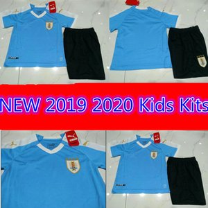 Wholesale 2019 Uruguay Copa America Soccer Jersey Kids Kits Uruguay Home L suarez E cavani D GODIN National Team Football Uniforms