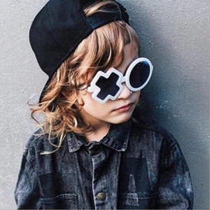 OUtdoor Child Eyewear Cute Kids XO Sunglasses Cool Unique Design Street Fashion Trend Boys Girls Shades Children Sun Glasses