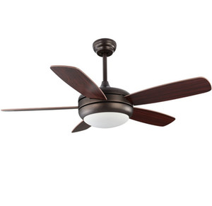 Wholesale modern ceiling fans for sale - Group buy Modern Led Ceiling Fan Volt Blades Ceiling Fans Lamps With Lights For Living Room home lighting LLFA