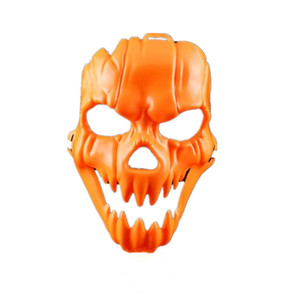 Wholesale scare mask for sale - Group buy Horror Pumpkin Party Bar Nightclub Scared Plastic Mask