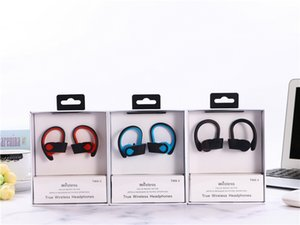 Wholesale TWS S True wireless earphone NFC function bluetooth headphone with microphone for running with retail package