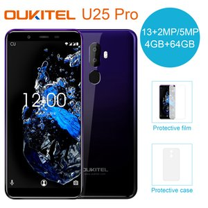Wholesale 5 inch LCD FHD OUKITEL U25 Pro G LTE Bit Octa Core MTK6750T GB GB Android Fingerprint GPS MP MP Dual Rear Camera Smartphone