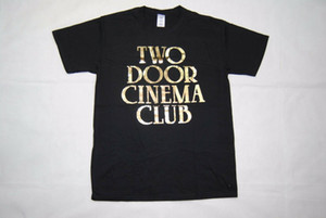 Wholesale TWO DOOR CINEMA CLUB GOLD LOGO TOUR T SHIRT NEW OFFICIAL BEACON GAMESHOW