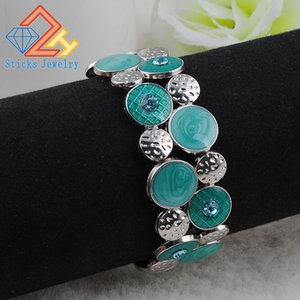 Wholesale Europe Environmental Protection Zinc Alloy Jewelry Drop of Oil Bracelet Stretch Bracelet