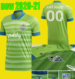 camisetas de fútbol de seattle sounders al por mayor-2012 New Seattle Sounders FC Away Soccer Jersey Kits Inicio Ruidiaz Morris Dempsey Torres Jerseys Camisa del kit de fútbol