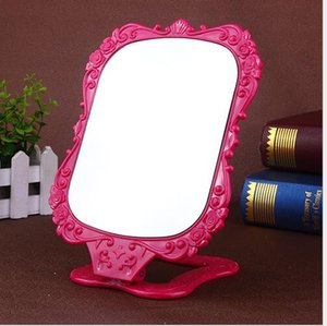 Wholesale Cosmetic Mirrors Folding Desk Mirror Cute Make Up Mirror Mini Mirrors Make up tool Over DHL