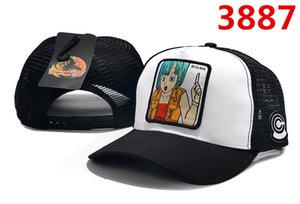 Wholesale Dragon Ball Anime Character Pattern Hat High Quality Adjustable Baseball Cap Male and Female Student Hat
