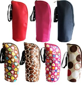 Wholesale Baby Feeding Milk Bottle Milk Warmer Insulation Bag Thermal Bag Baby Bottles Bolsa Botella Termica Thermos Baby Bottle Holder