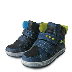 Wholesale Super quality Autumn pair Boy Children Leather Boot Kids arch support Fashion Shoes