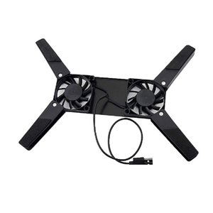 Wholesale Folding USB Dual Fan Cooler Rotatable Cooling Pad Stand For PC Computer Laptop Notebook for Macbook