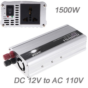 Wholesale ac charger dc 12v resale online - Freeshipping Professional W WATT DC V to AC V Portable Car Power Inverter Charger Converter Transformer for Car Truck Pickup SUV