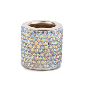 Wholesale Crystal Diamond Car Seat Headrest Decorative Ring Bling Car Accessories