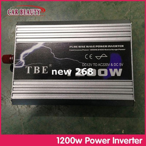 Wholesale sine wave for sale - Group buy Freeshipping Solar Power Inverter W Pure Sine Wave Car Power Inverter Dc12V To Ac V For Car Solar Boat Home
