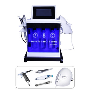Wholesale 2019 new portable led mask multi-functional facial beauty equipment skin whitening spray skin moisturizing hydra facial skin care beauty
