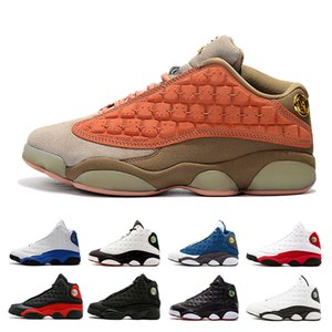 2019 jumpman Basketball Shoes 13 Cap And Gown Black Atmosphere Grey retro He Got Game Bred Phantom 13s Designer Sports Trainers Sneakers