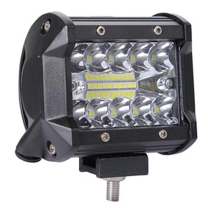 Wholesale 200W LED Rows inch LM Work Light Bar Driving Spot Flood Lamp vehicle headlight motorcycle lamp Truck Tractor Boat Trailer