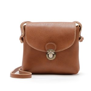Wholesale small bags for women sac bandouli re femme Women Lady Leather Purse Satchel Handbag Shoulder Bag Tote Beige dames tassen KJ