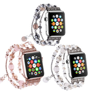 Woman Jewellery Wrist Bracelet Watch Band for Apple Watch Series 1 2 3 4 5 Fashion Strap for Iwatch 38mm 40mm 42mm 44mm Weave Watch Band