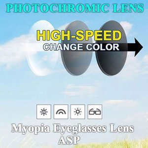 Wholesale Single Version Bifocal Photochromic Gray Progressive Lenses Multifocal Aspheric Resin Optical Prescription Eye Glasses Lenses