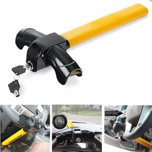 Wholesale Professional Truck Steering Wheel Lock Auto Use Security Anti Theft Universal Car Stainless Steel Durable T Type Rotary