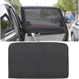 Wholesale auto side window sun shades for sale - Group buy Car Window Sunshade Cover Magnetic Curtain UV Protection Auto Side Windows Sun Visor Shield Mesh Sun Shade Protector Film