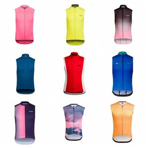 Wholesale RAPHA team custom made Cycling Sleeveless jersey Vest Comfortable and windproof outdoor Breathable Bike Clothing Quick Dry F709