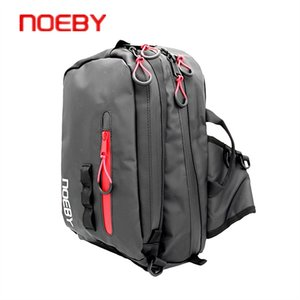 NOEBY S(31.5*24.5*14cm) M(38.5*24.5*15cm) Multifunction Shoulder Fishing Bag Fishing Reel Lure Large Capacity Tackle Bag #171118 on Sale