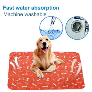 Wholesale dog training pads for sale - Group buy Pet Dog Diaper Urine Car Mat Animal Training Travel Pet Pee Pads Pee Pads Mat Cartoon Printing Waterproof Reusable
