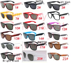 Wholesale good quality Brand Designer Fashion Men Sunglasses UV Protection Outdoor Sport Vintage Women Sun glasses Retro Eyewear colors free shippin