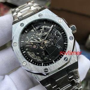 Rose Gold Brand Men designer Watch Automatic skeleton Aaa Luxury Mens ROYAL Watches DIVER Wristwatches Orologio Di Lusso Montre