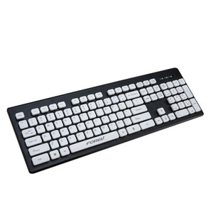 Wholesale Cute Keys Cap Waterproof Silence Office Wired Keyboard for PC Laptop Computer JLRL88