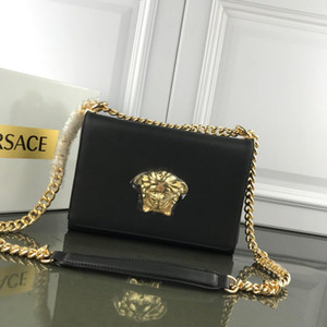Hot 2019 Women designer bags genuine leather messenger bag luxury 2019 New fashion chain bags on Sale